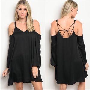 Black mini dress!!!